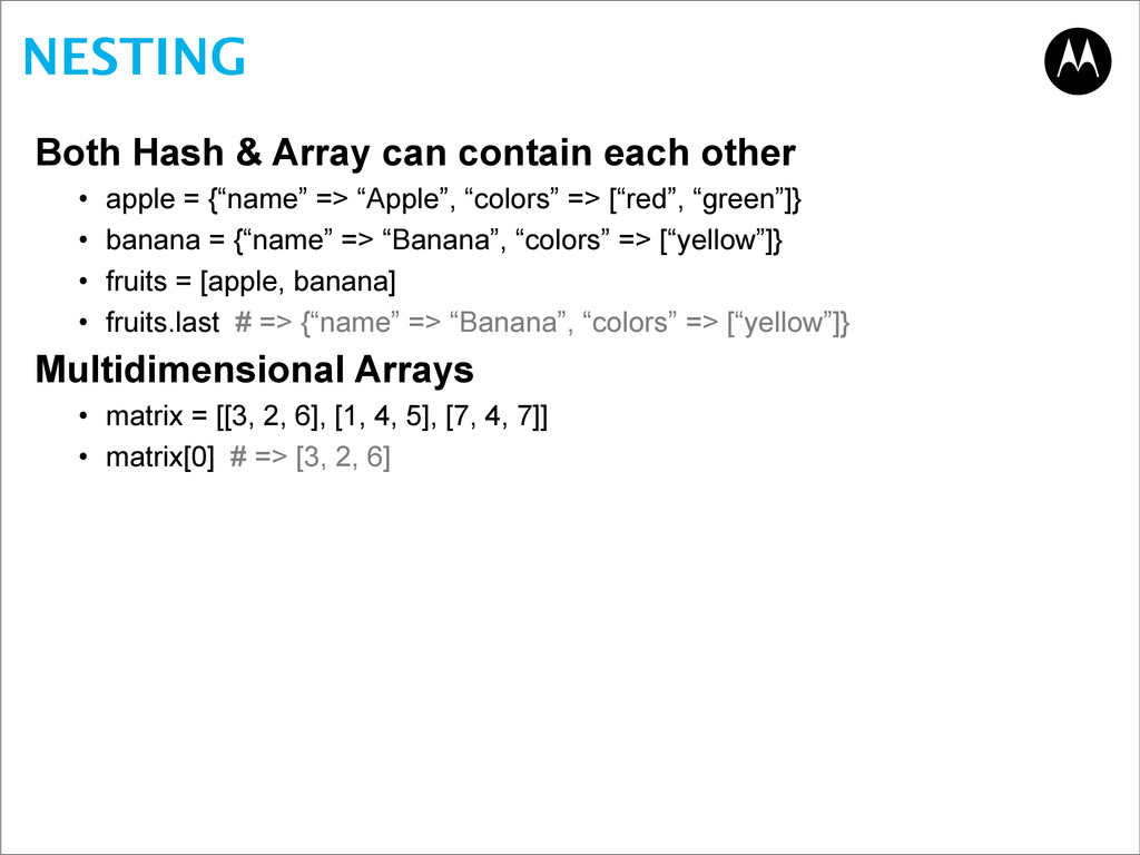NESTING