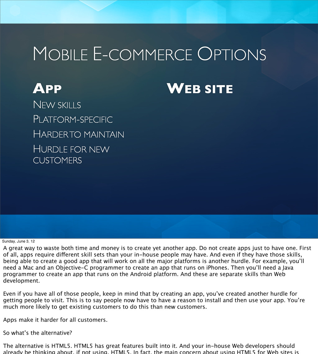 APP WEB SITE NEW SKILLS MOBILE E-COMMERCE OPTIO...