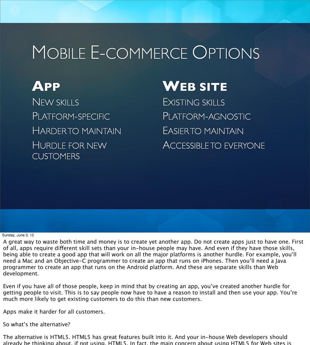 APP WEB SITE NEW SKILLS EXISTING SKILLS MOBILE ...