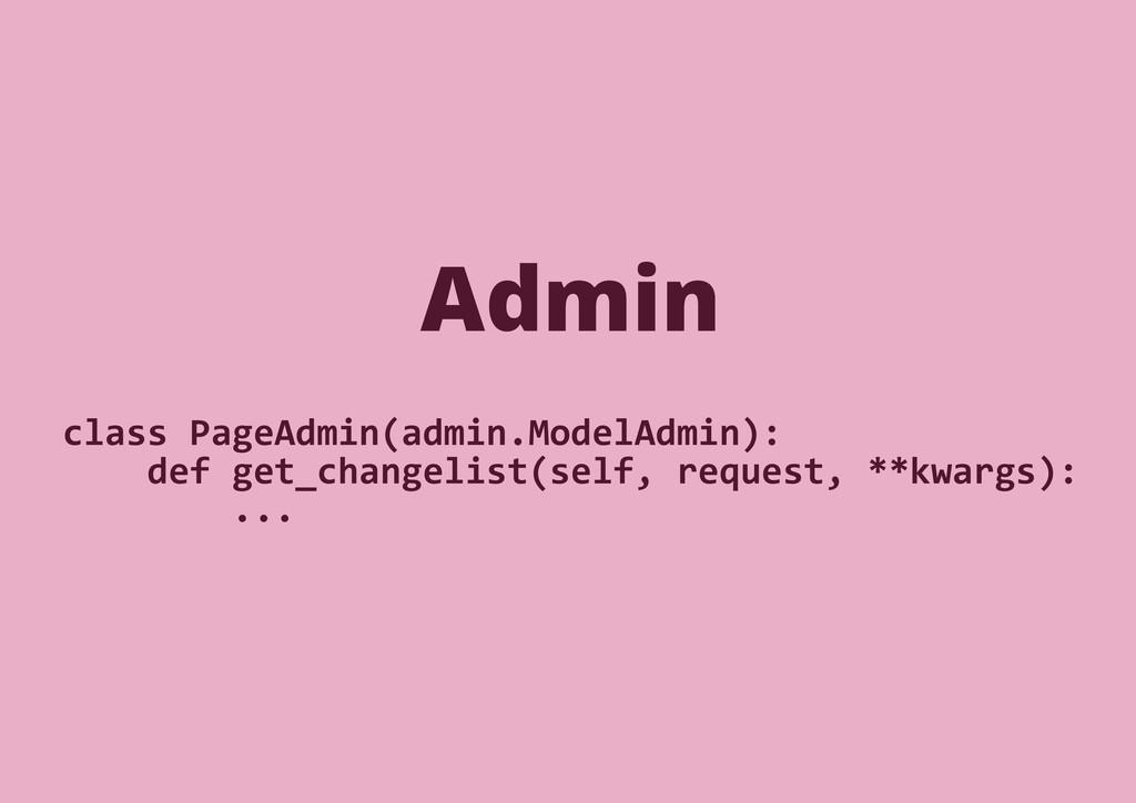 class PageAdmin(admin.ModelAdmin): def get_chan...