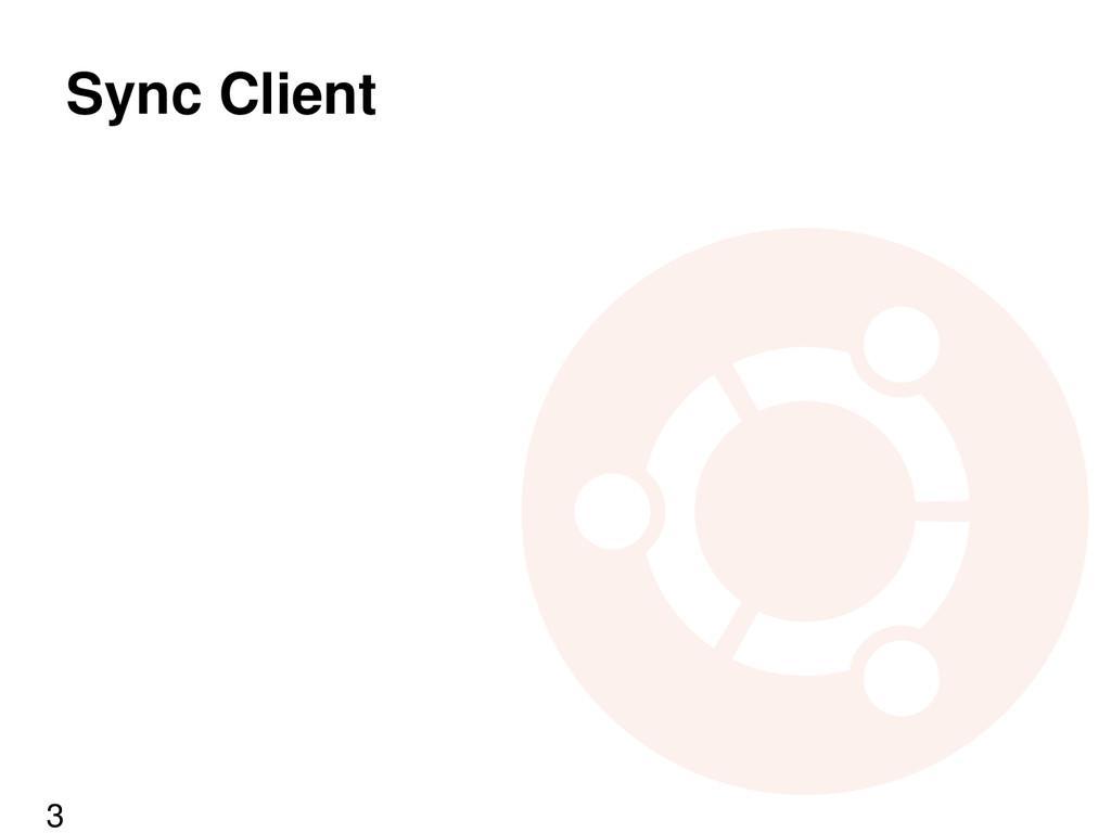 Sync Client 3