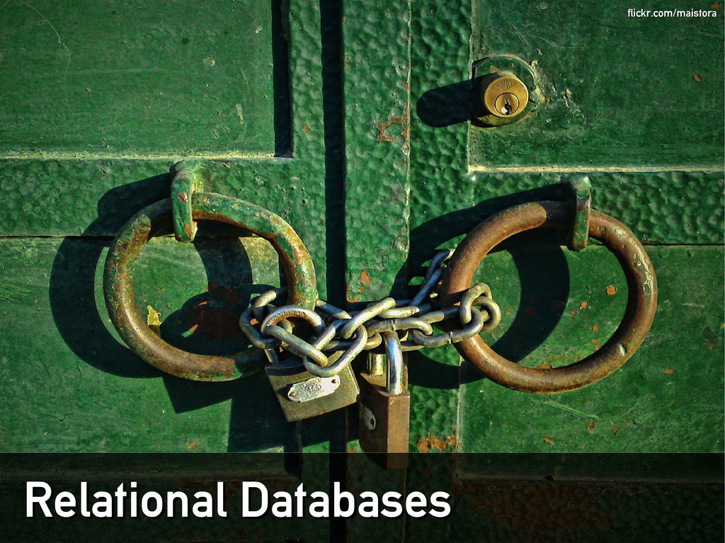Relational Databases Relational Databases flick...
