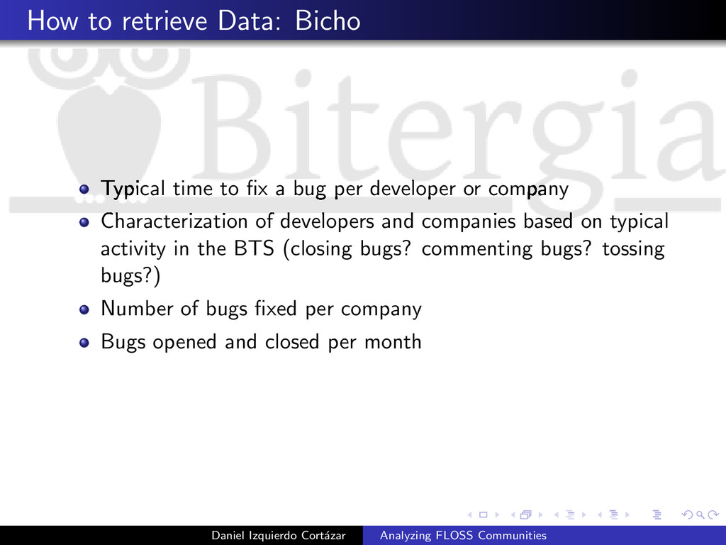 How to retrieve Data: Bicho Typical time to fix ...