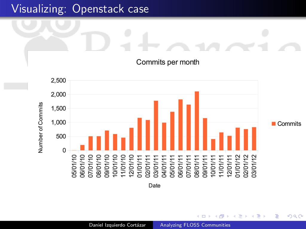 Visualizing: Openstack case Daniel Izquierdo Co...