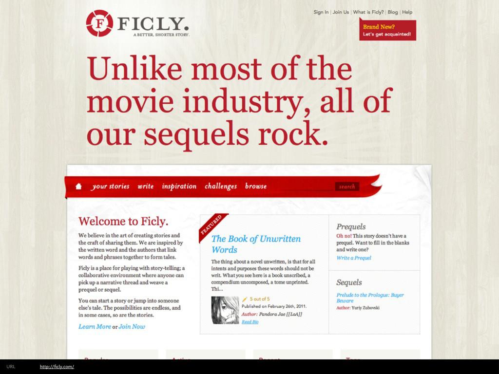 http://ficly.com/ URL