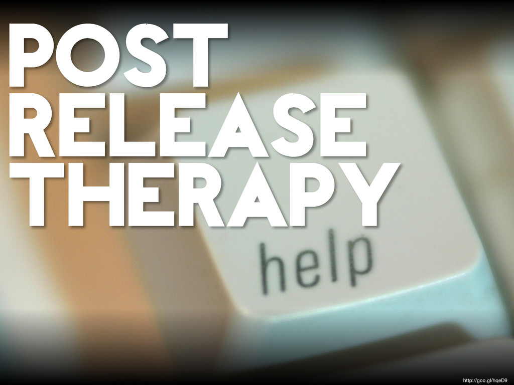 POST RELEASE THERAPY http://goo.gl/hqeD9