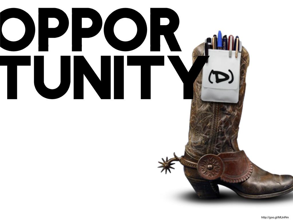 oppor tunity http://goo.gl/MUnRm