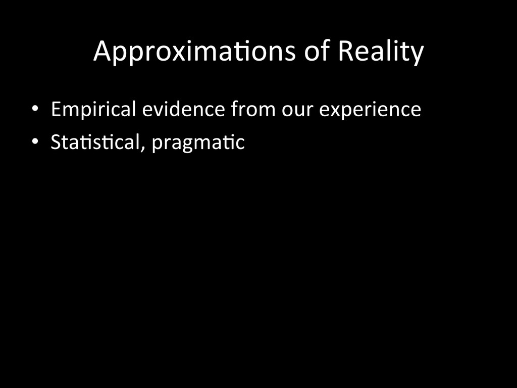Approxima'ons	
