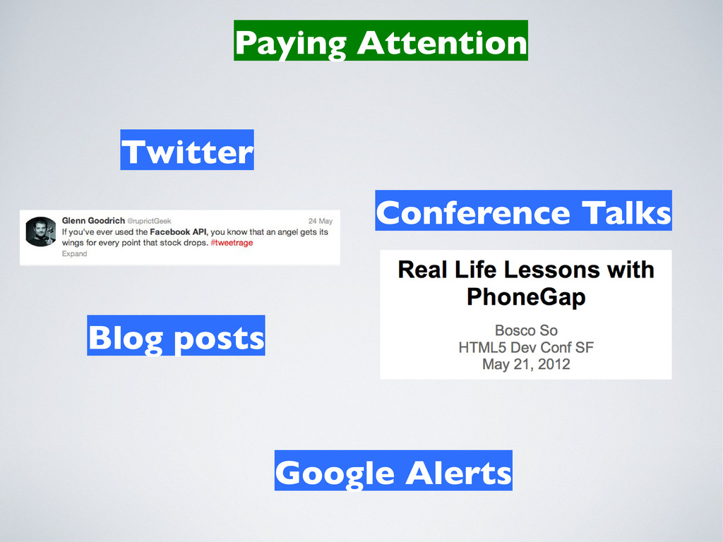 Paying Attention Twitter Google Alerts Conferen...