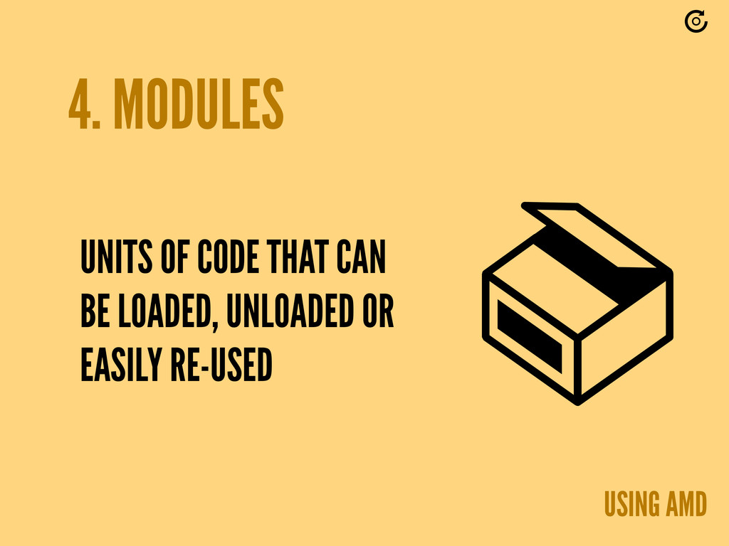 4. MODULES UNITS OF CODE THAT CAN BE LOADED, UN...