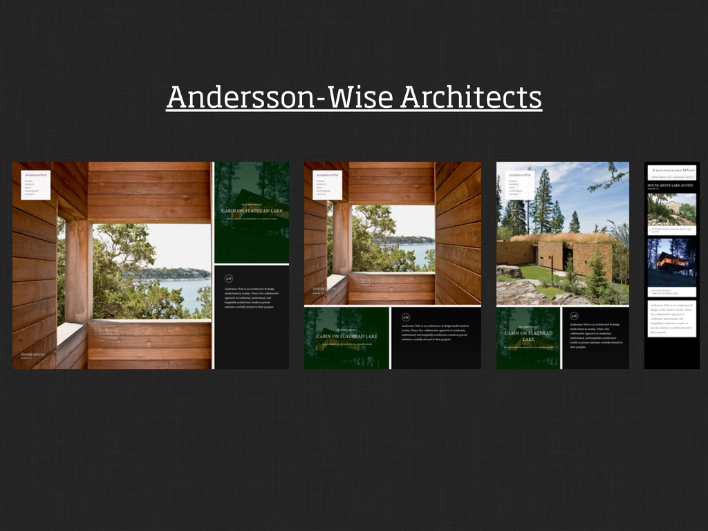 Andersson-Wise Architects
