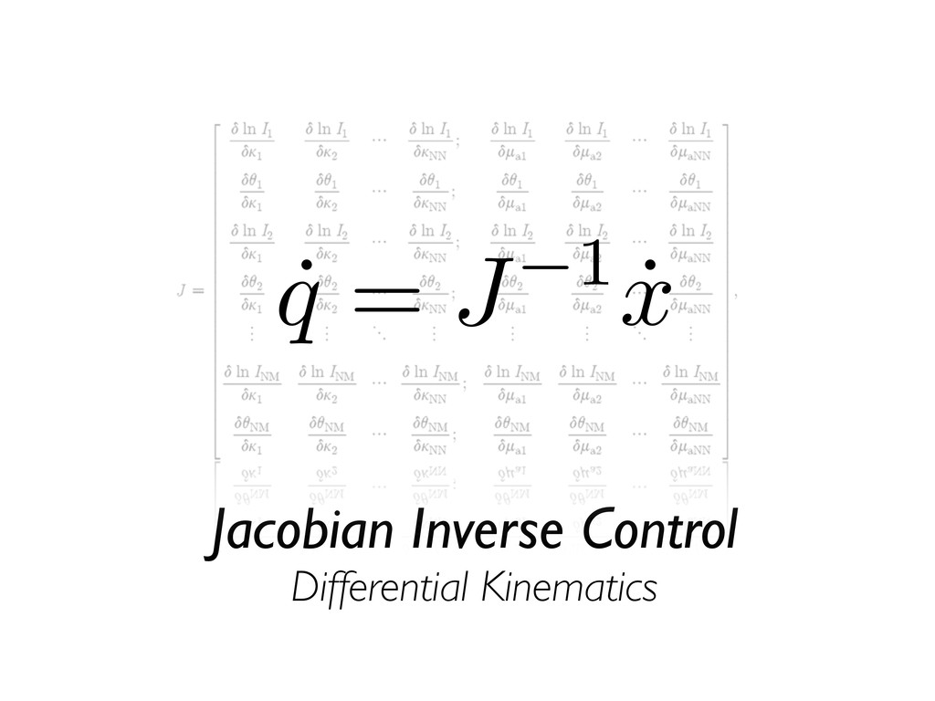Jacobian Inverse Control Differential Kinematic...