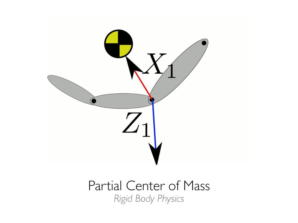 Partial Center of Mass Rigid Body Physics