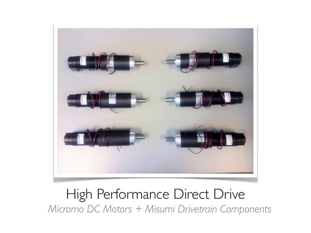 High Performance Direct Drive Micromo DC Motors...