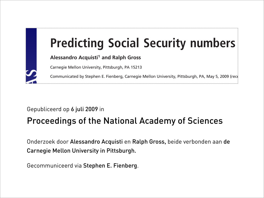 Predicting Social Security numbers from Alessan...