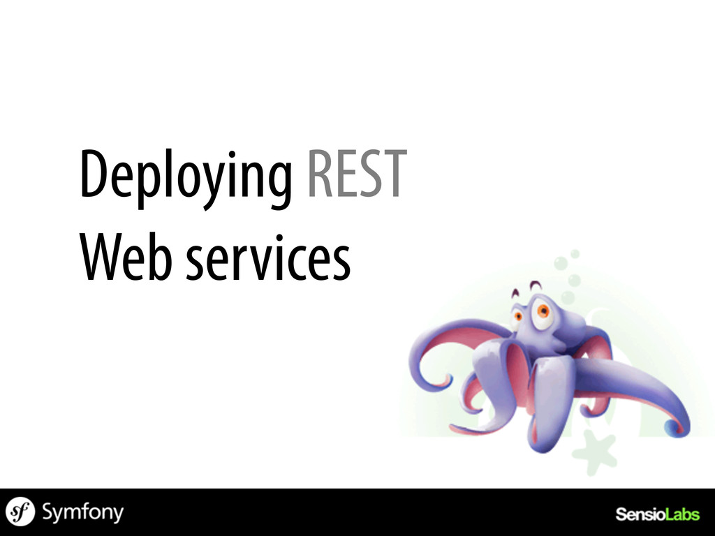 Deploying REST Web services