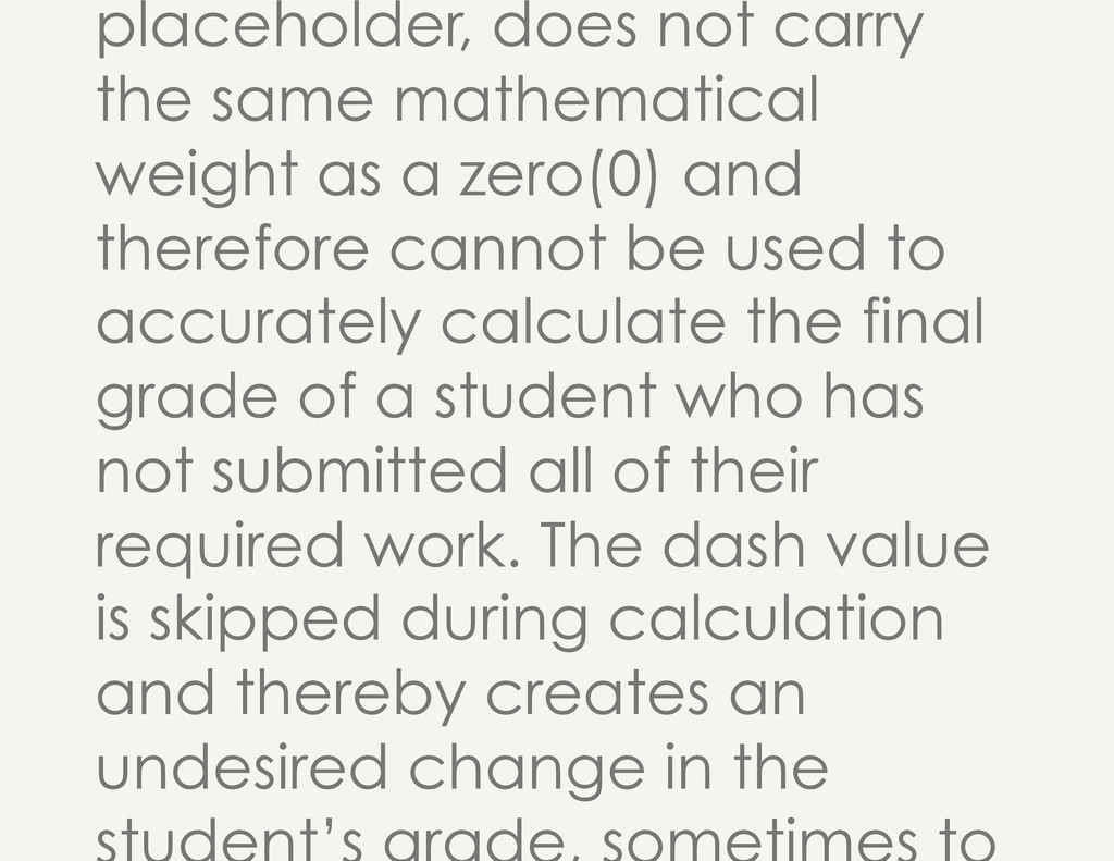 placeholder, does not carry the same mathematic...