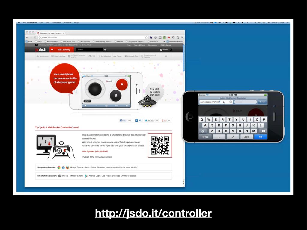 http://jsdo.it/controller