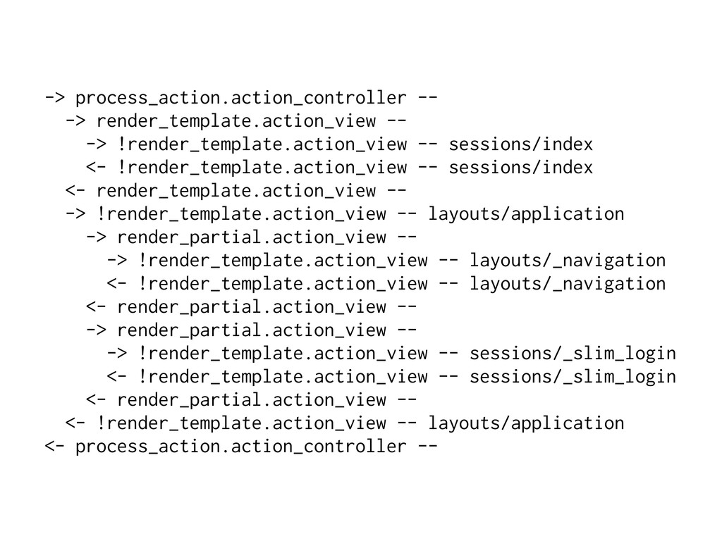 -> process_action.action_controller -- -> rende...