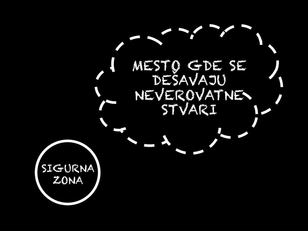 MESTO GDE SE DEŠAVAJU NEVEROVATNE STVARI SIGURN...