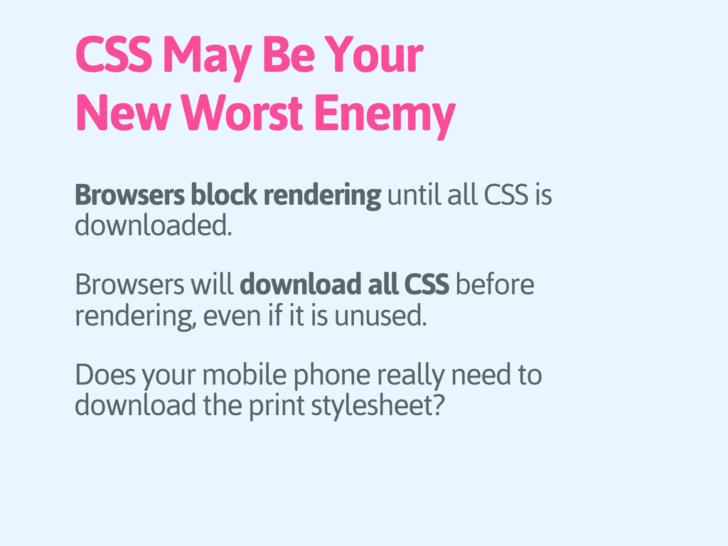 CSS May Be Your New Worst Enemy Browsers block ...