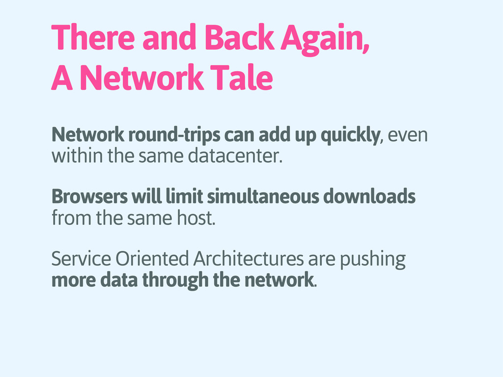 There and Back Again, A Network Tale Network ro...