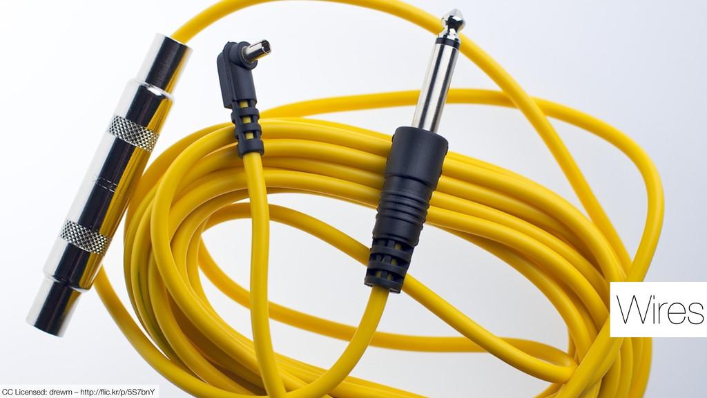 Wires CC Licensed: drewm – http://flic.kr/p/5S7b...
