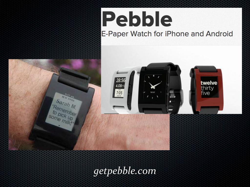 getpebble.com