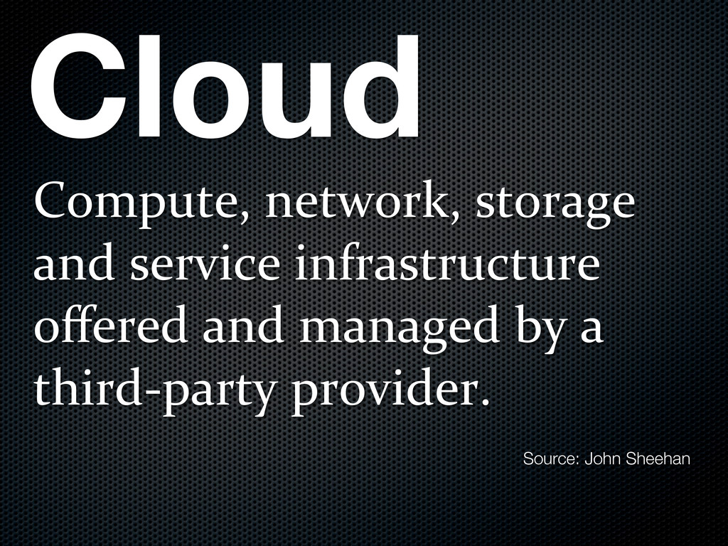 Cloud Compute,)network,)storage) and)service)in...