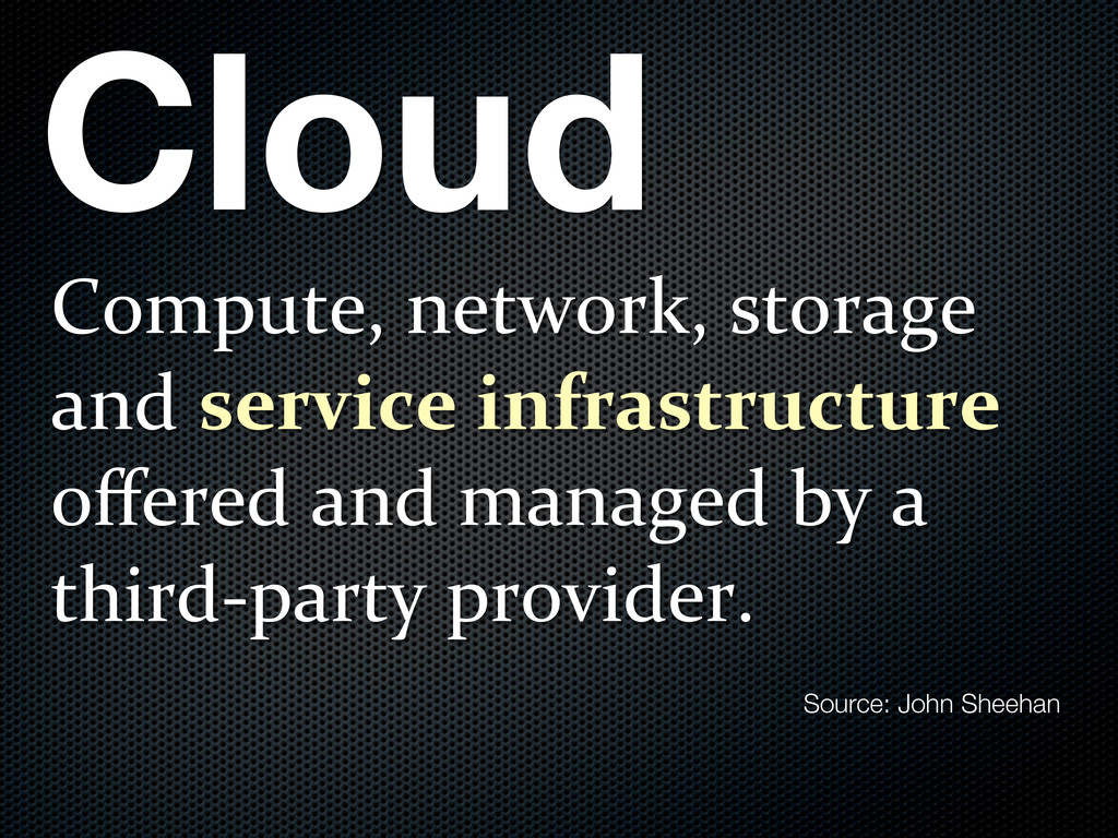 Cloud Compute,)network,)storage) and)service'in...
