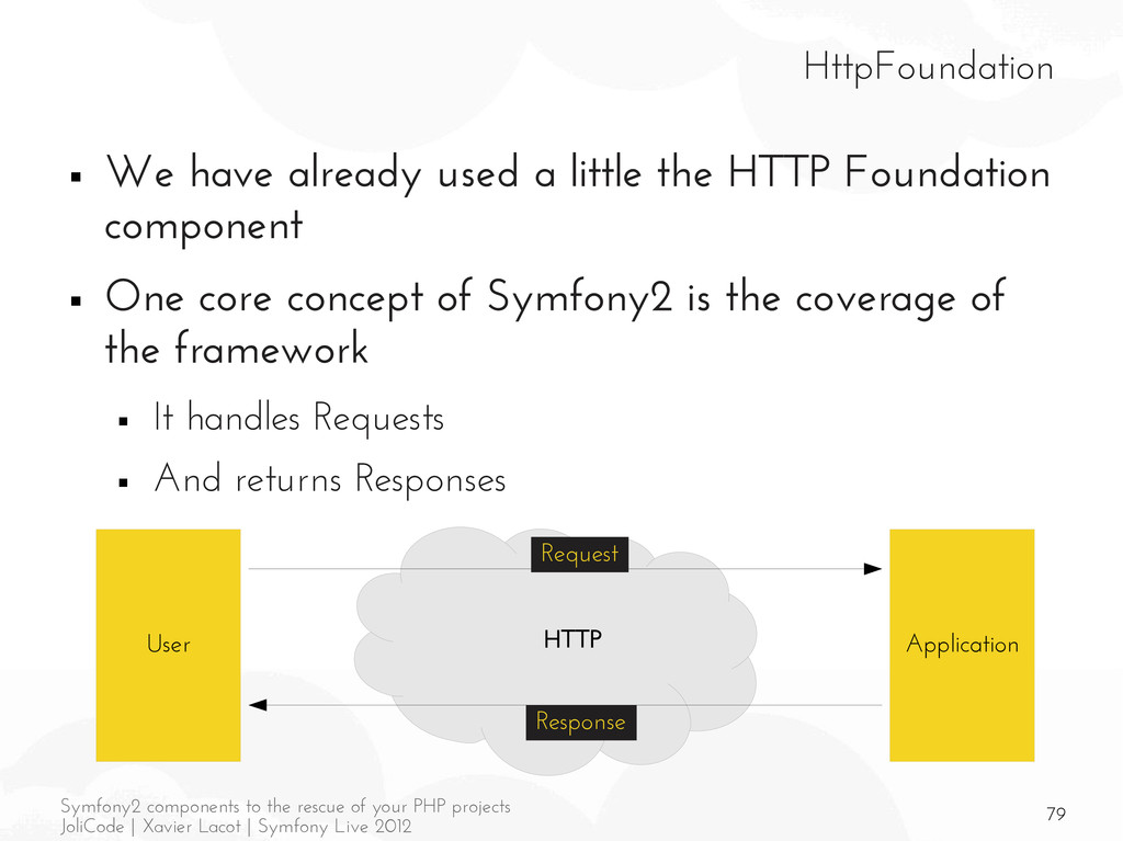 79 Symfony2 components to the rescue of your PH...