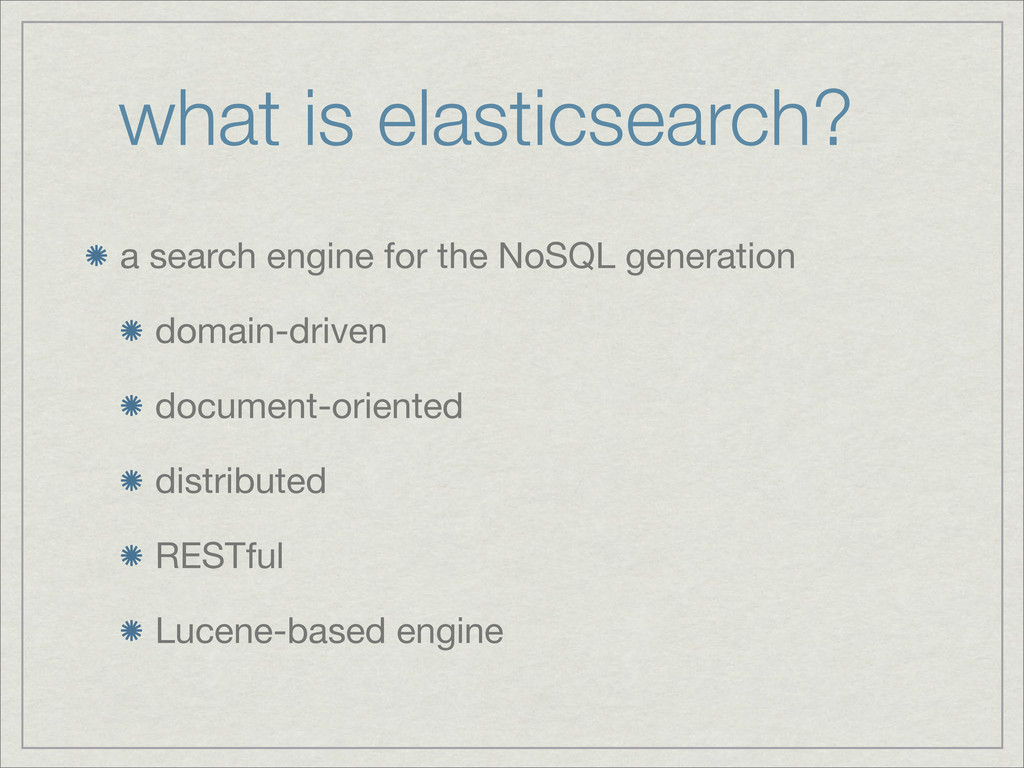 what is elasticsearch? a search engine for the ...