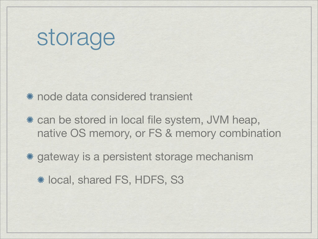 storage node data considered transient can be s...