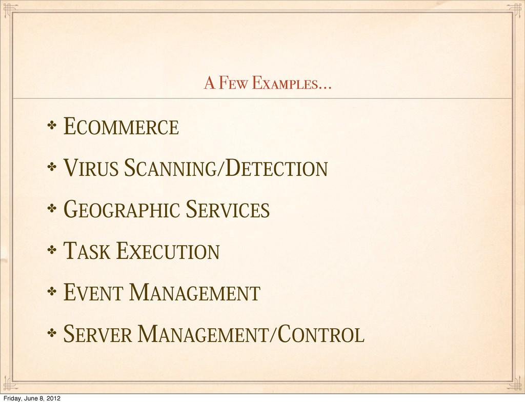 """A Few Examples... ✤&$0..&3$& ✤7*3644$""""//*/(..."""