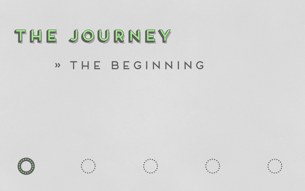o o o o o o the journey The Journey the journey...