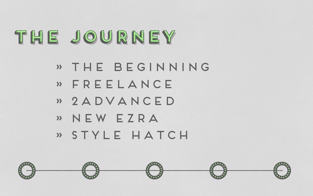 o o o o o o o o o o the journey The Journey the...