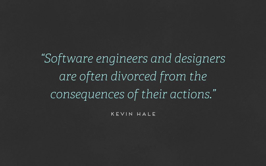 """Software engineers and designers are often div..."