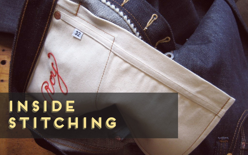 inside stitching inside stitching