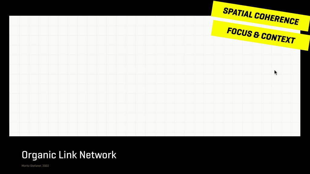 Organic Link Network Moritz Stefaner, 2002 FOCU...