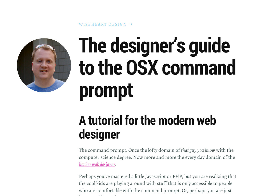 WISEHEA RT D ESIGN → The designer's guide to th...