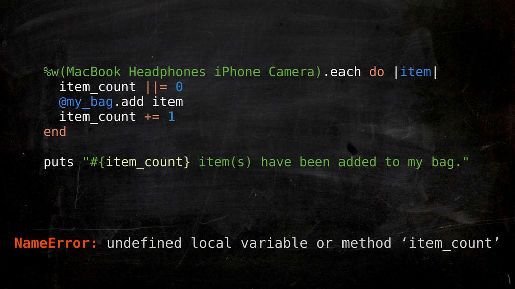 %w(MacBook Headphones iPhone Camera).each do |i...