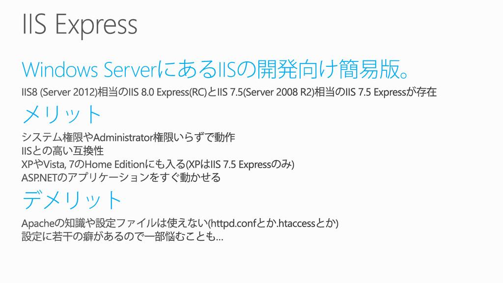 Windows Server IIS