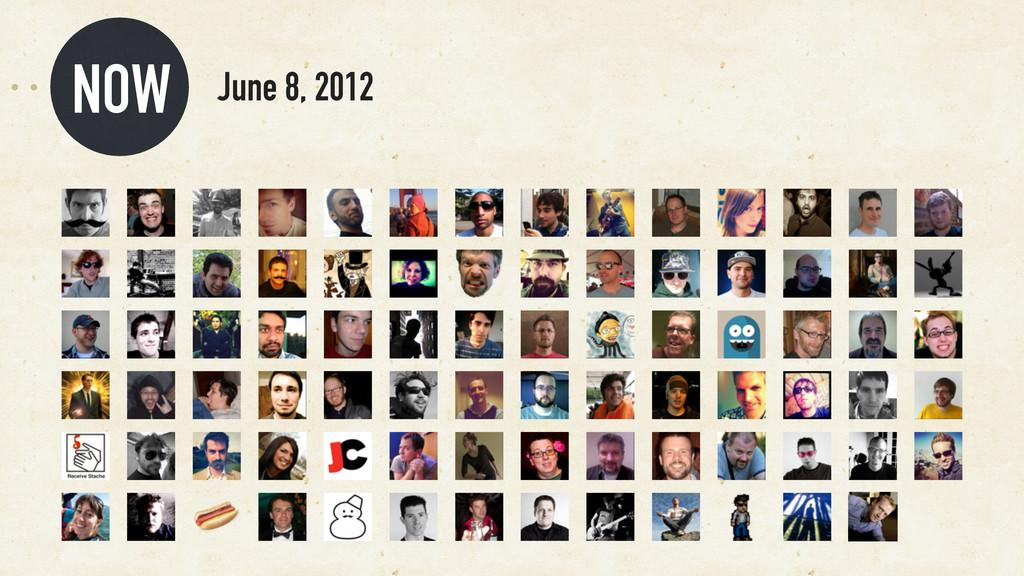 NOW June 8, 2012