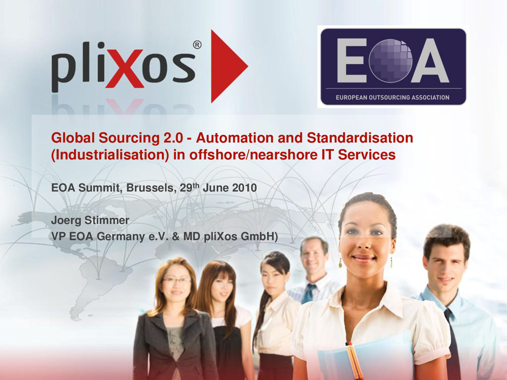 Global Sourcing 2.0 - Automation and Standardis...
