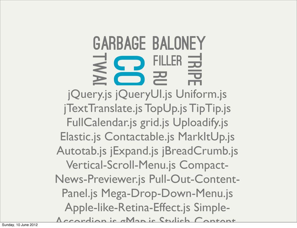 trash rubbish filler content nonsense crap popp...