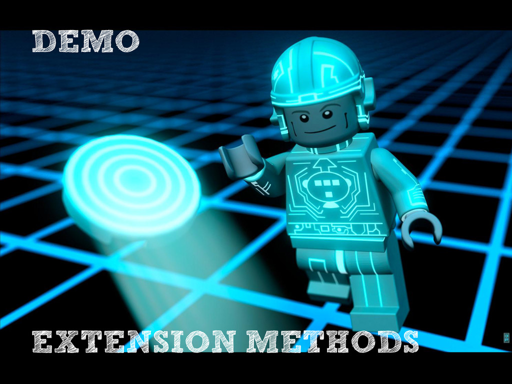 DEMO EXTENSION METHODS