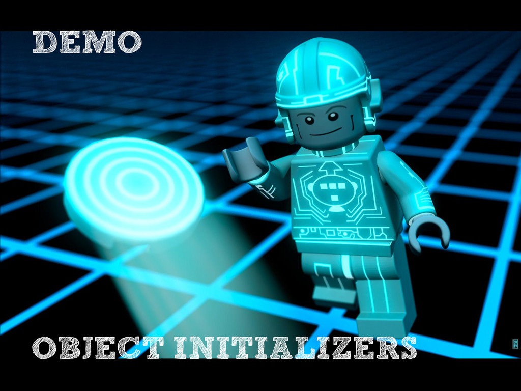 DEMO OBJECT INITIALIZERS
