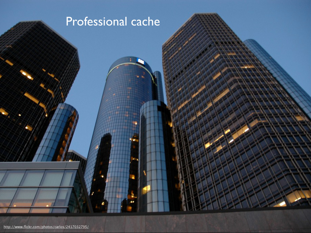 Professional cache http://www.flickr.com/photos/...