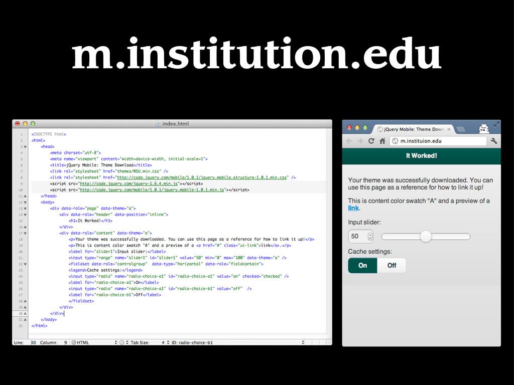 m.institution.edu
