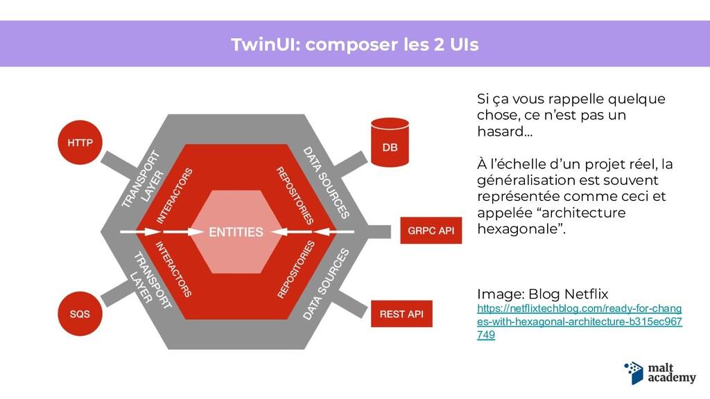 TwinUI: composer les 2 UIs Si ça vous rappelle ...